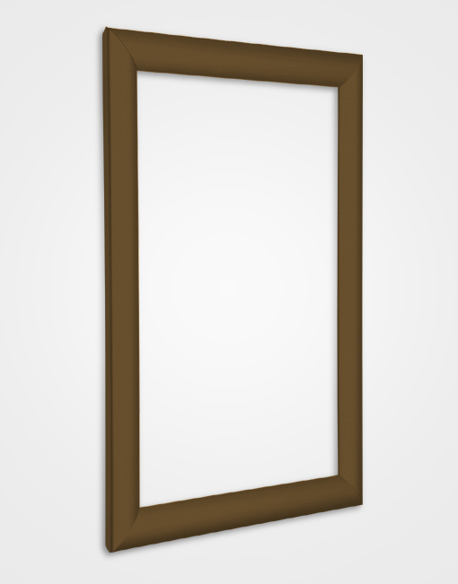 25mm Bespoke Colour Snap Frame / Chocolate Brown