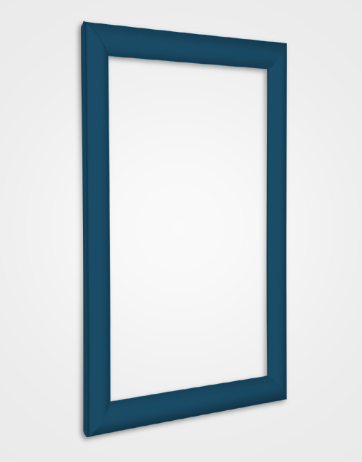 25mm Bespoke Colour Snap Frame / Gentian Blue