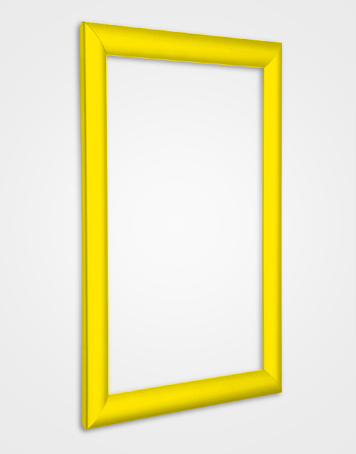 25mm Bespoke Colour Snap Frame / Rape Yellow