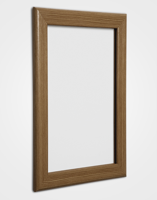32mm Bespoke Colour Snap Frame / Golden Oak