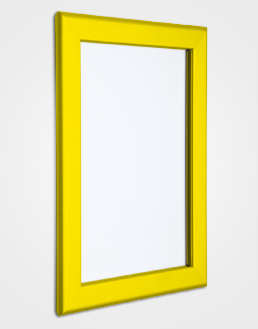 32mm Bespoke Colour Snap Frame / Rape Yellow
