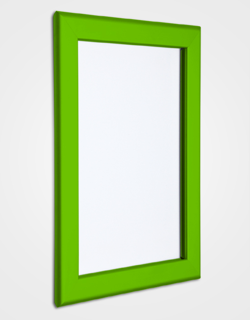 32mm Bespoke Colour Snap Frame / Traffic Green