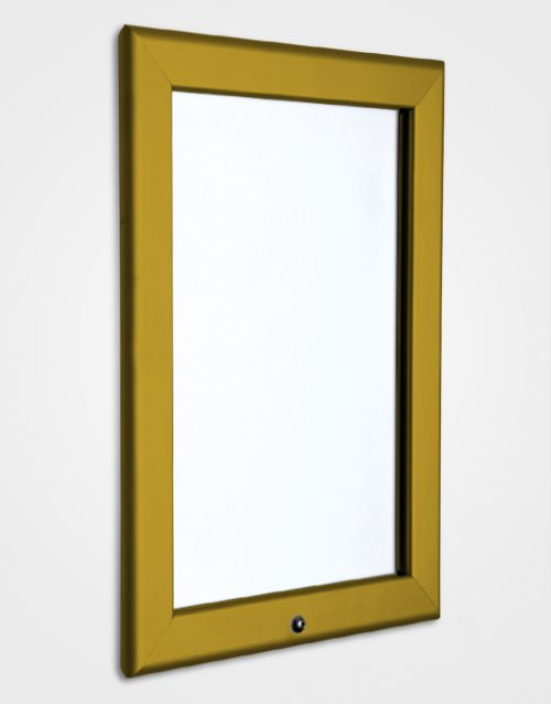 32mm Colour Lockable Snap Frame / Bronze Anodised