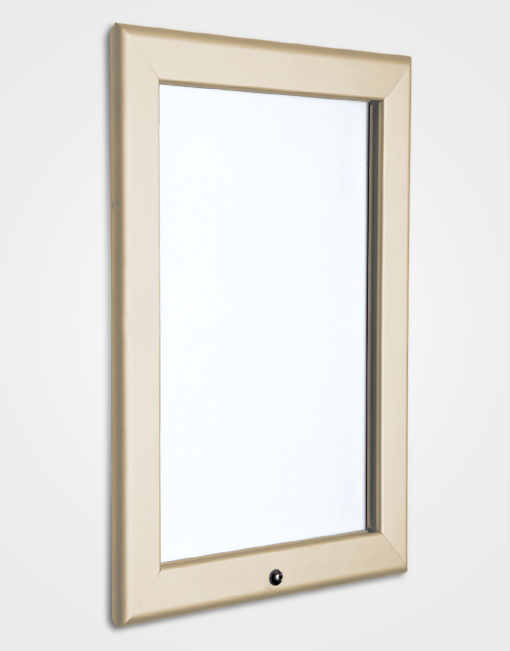 32mm Colour Lockable Snap Frame / Cream