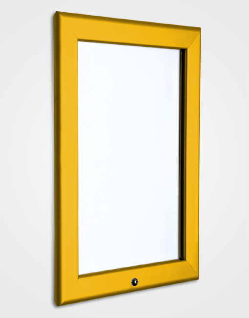 32mm Colour Lockable Snap Frame / Gold Anodised