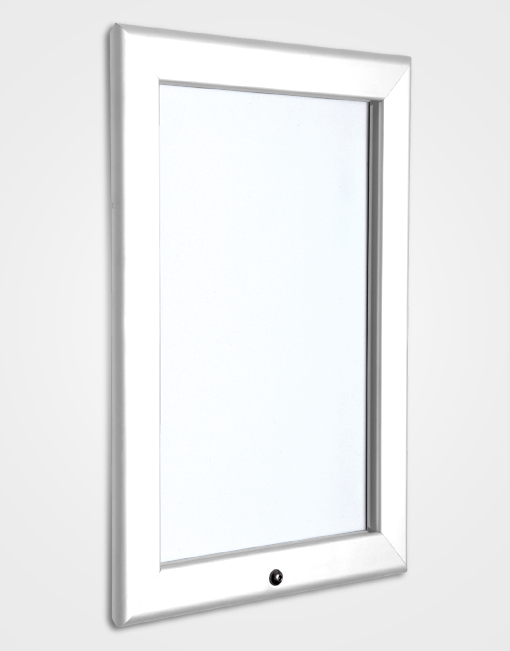 32mm Colour Lockable Snap Frame / Signal White