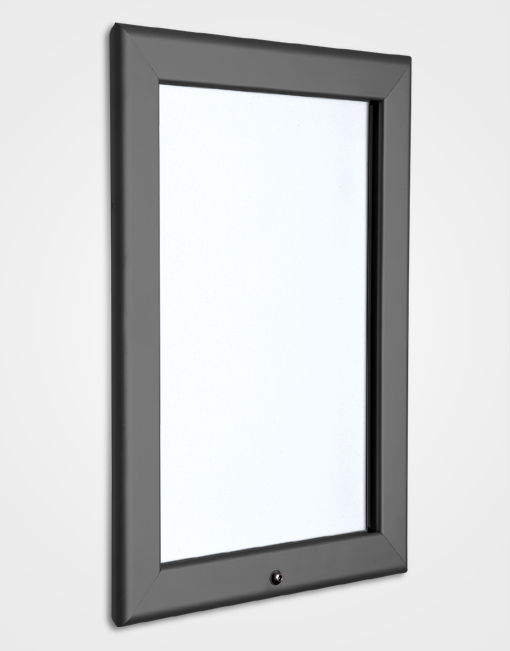 32mm Colour Lockable Snap Frame / Slate Grey