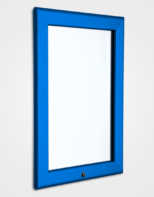 32mm Colour Lockable Snap Frame / Ultramarine Blue
