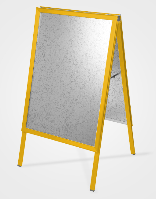 Colour A-Board / Gold Anodised