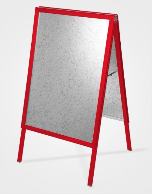 Colour A-Board / Traffic Red