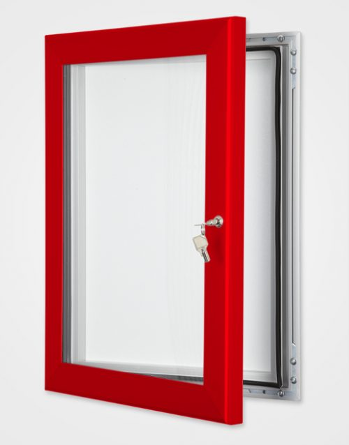 Colour Key Lock Magnetic Frame / Traffic Red