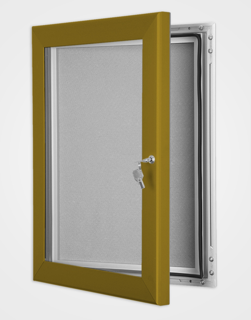 Colour Key Lock Pin Board Frame / Bronze Anodised