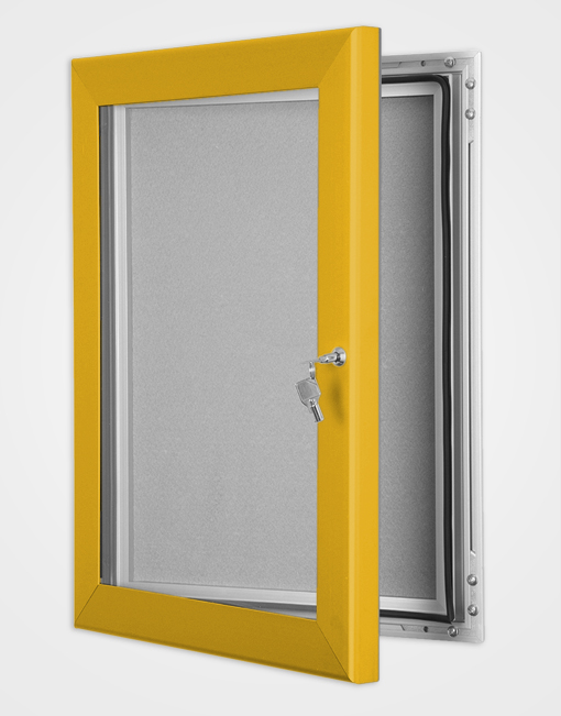 Colour Key Lock Pin Board Frame / Gold Anodised