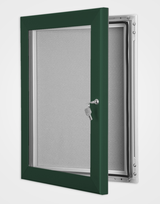 Colour Key Lock Pin Board Frame / Moss Green