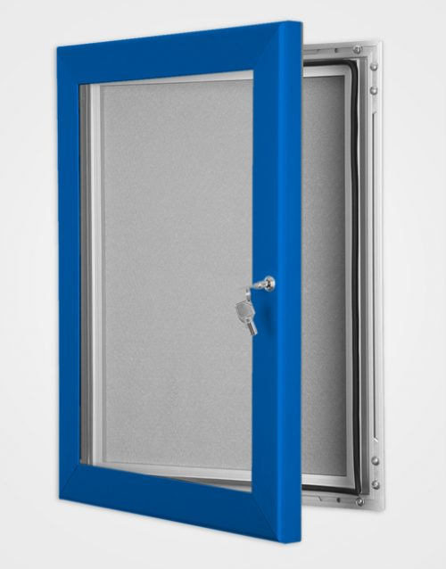 Colour Key Lock Pin Board Frame / Ultramarine Blue