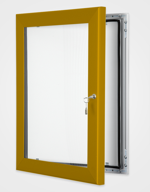 Colour Key Lock Poster Frame / Bronze Anodised