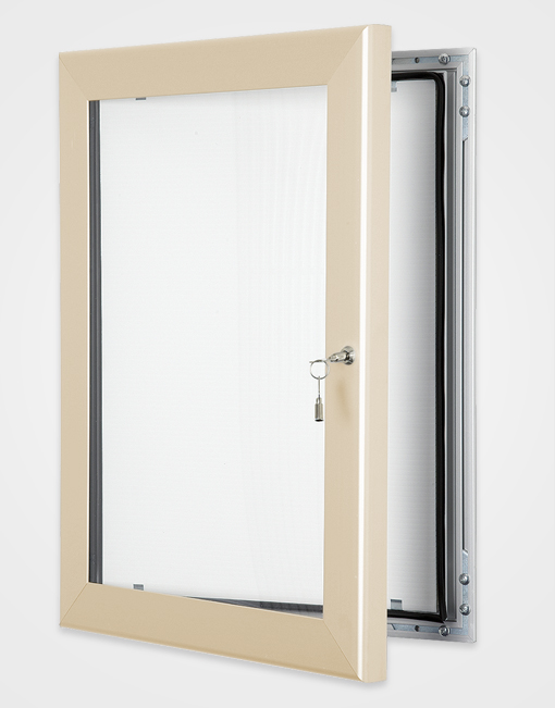 Colour Key Lock Poster Frame / Cream