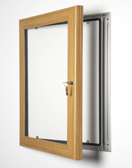 Colour Key Lock Poster Frame / Pine