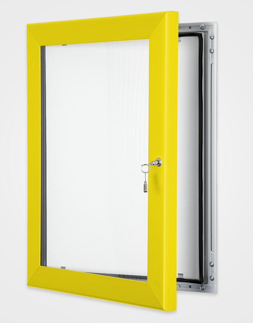 Colour Key Lock Poster Frame / Rape Yellow
