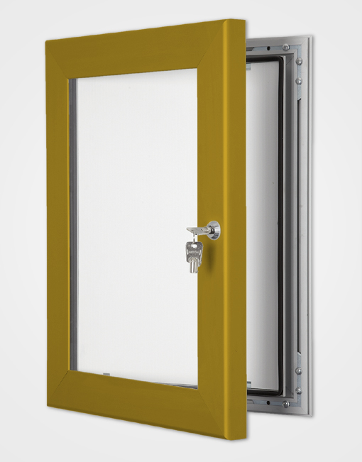 Colour Secure Lock Frame / Bronze Anodised