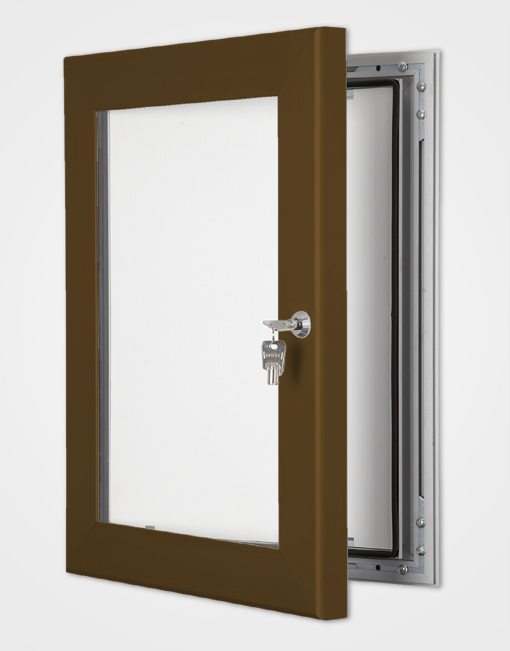 Colour Secure Lock Frame / Chocolate Brown