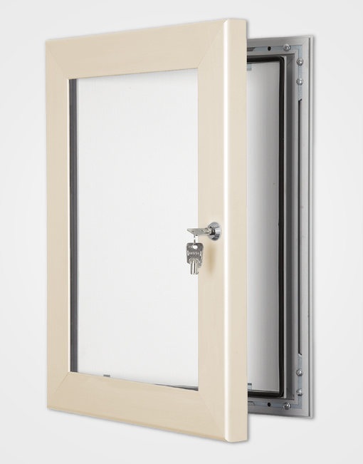 Colour Secure Lock Frame / Cream