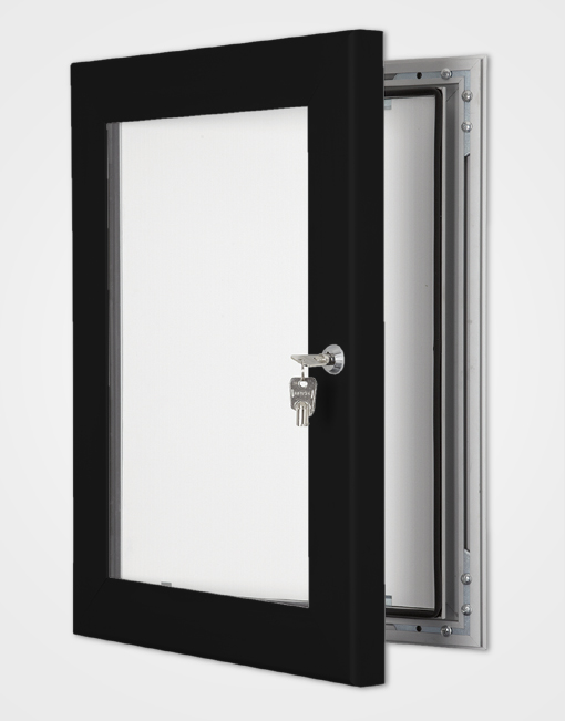 Colour Secure Lock Frame / Jet Black