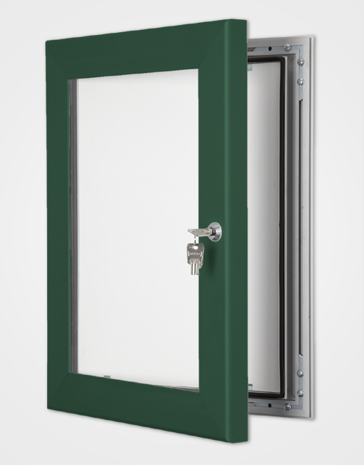 Colour Secure Lock Frame / Moss Green