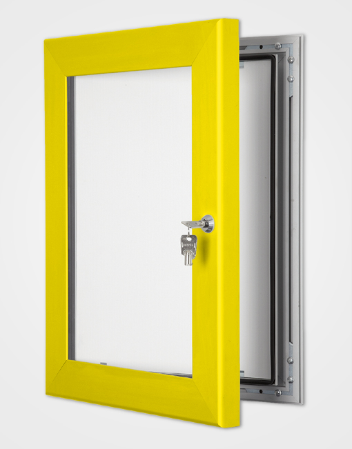 Colour Secure Lock Frame / Rape Yellow