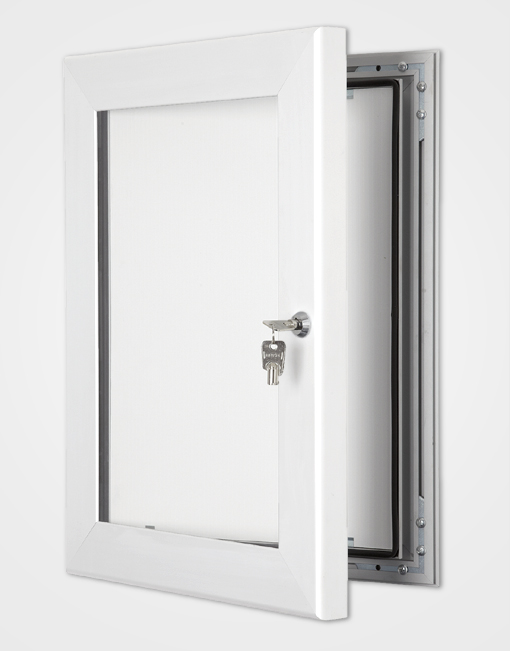 Colour Secure Lock Frame / Signal White