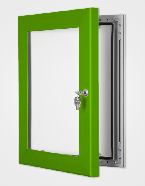 Colour Secure Lock Frame / Traffic Green