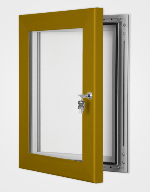 Colour Secure Lock Magnetic Frame / Bronze Anodised