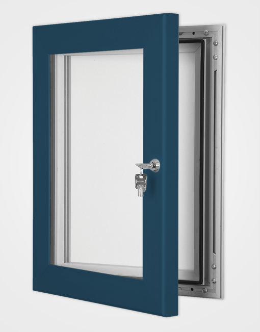 Colour Secure Lock Magnetic Frame / Gentian Blue