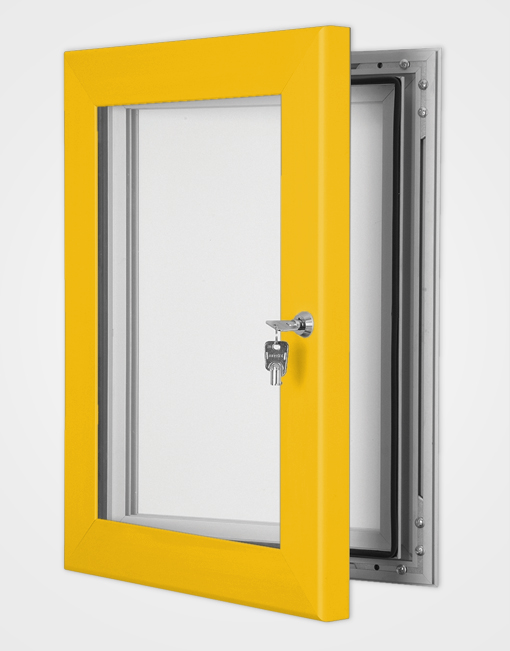 Colour Secure Lock Magnetic Frame / Gold Anodised