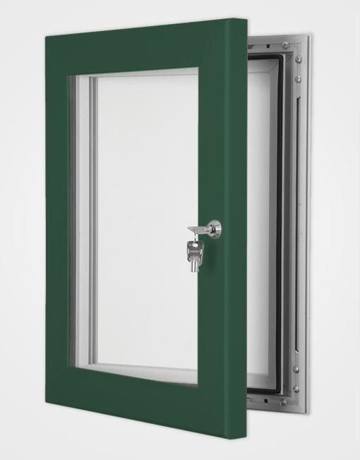 Colour Secure Lock Magnetic Frame / Moss Green