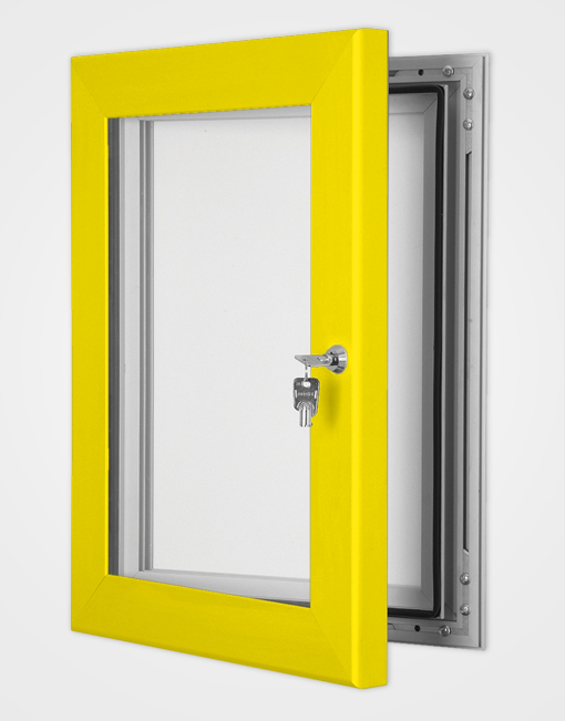 Colour Secure Lock Magnetic Frame / Rape Yellow