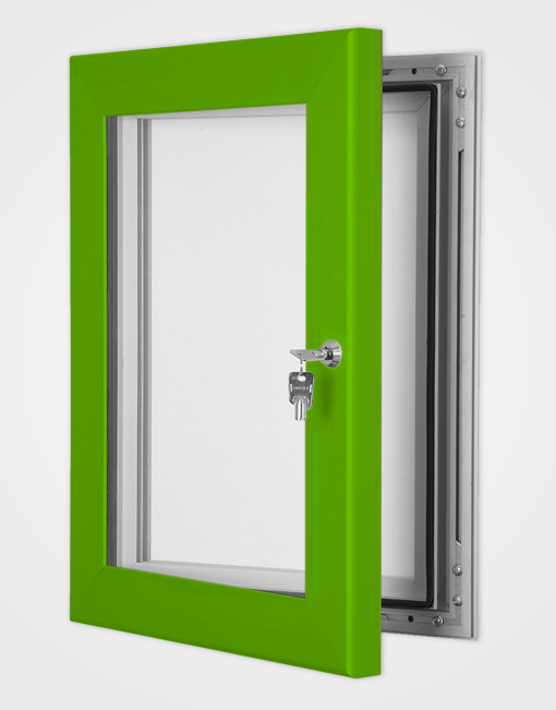 Colour Secure Lock Magnetic Frame / Traffic Green