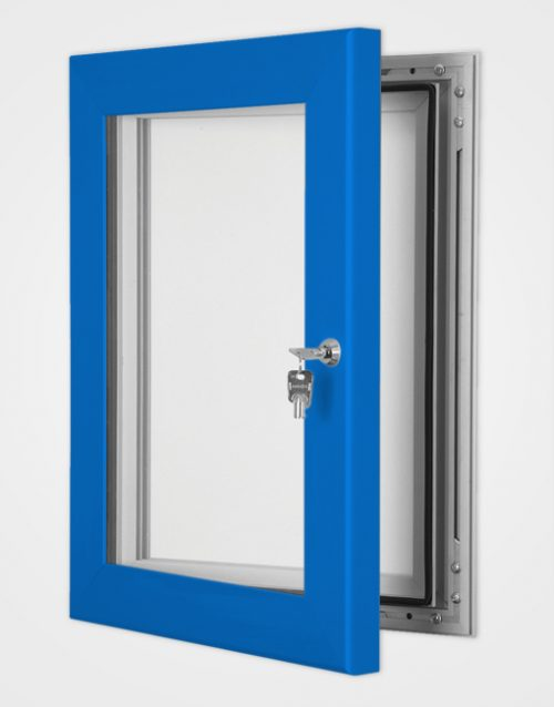Colour Secure Lock Magnetic Frame / Ultramarine Blue