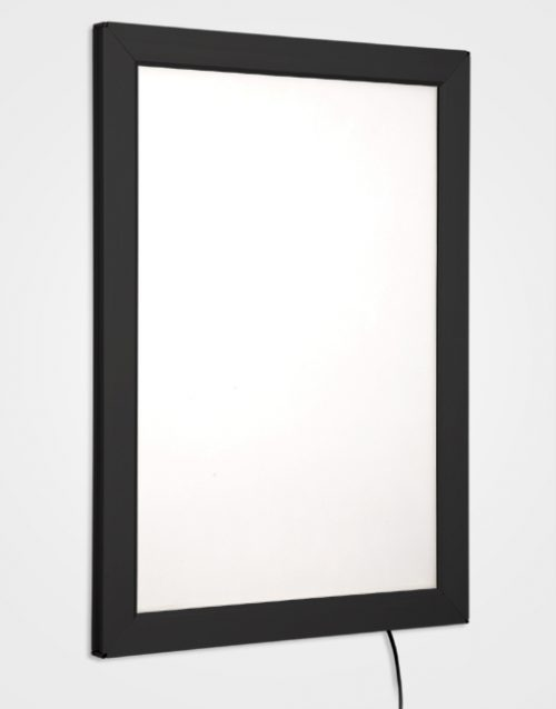 Colour Snap Frame Light Box / Jet Black