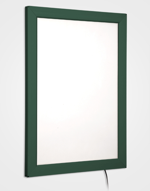 Colour Snap Frame Light Box / Moss Green