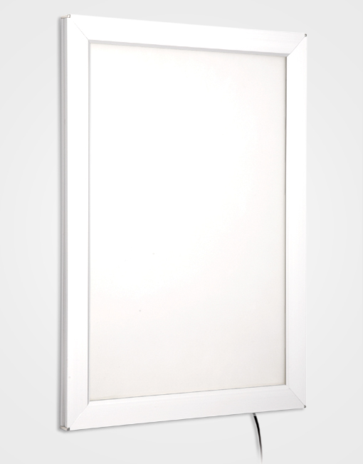 Colour Snap Frame Light Box / Signal White