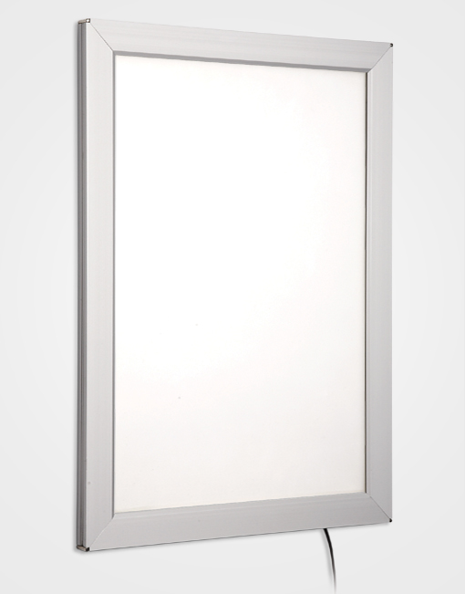 Colour Snap Frame Light Box / Silver Anodised