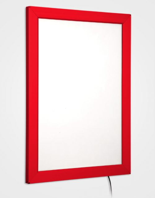 Colour Snap Frame Light Box / Traffic Red