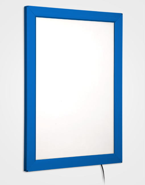 Colour Snap Frame Light Box / Ultramarine Blue