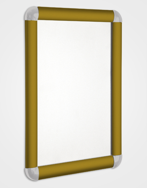 Eco 1 Colour Snap Frame / Bronze Anodised