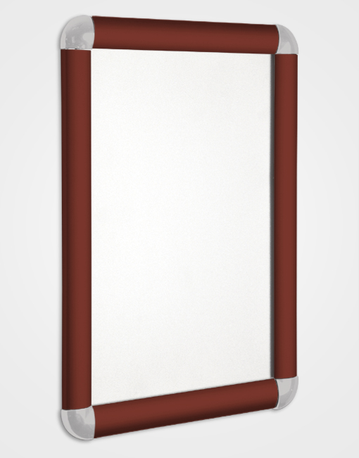 Eco 1 Colour Snap Frame / Brown Red