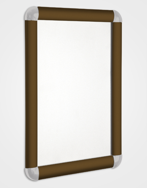 Eco 1 Colour Snap Frame / Chocolate Brown