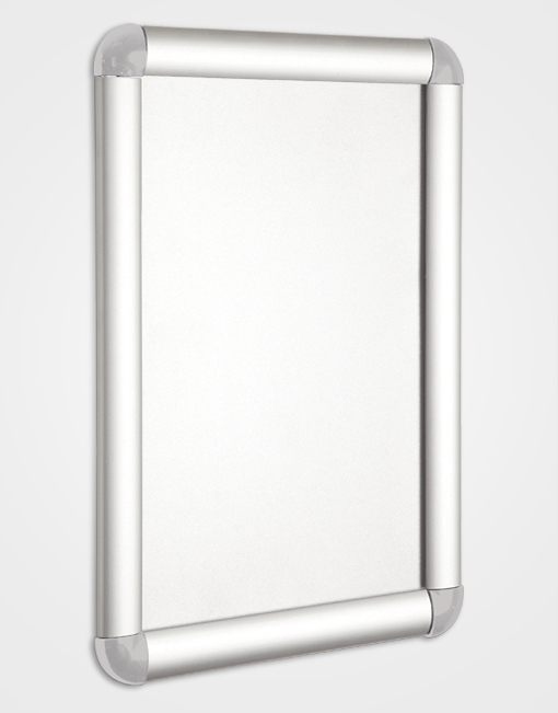 Eco 1 Colour Snap Frame / Silver Anodised