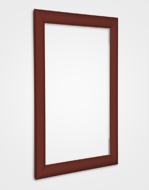 Eco 2 Colour Snap Frame / Brown Red