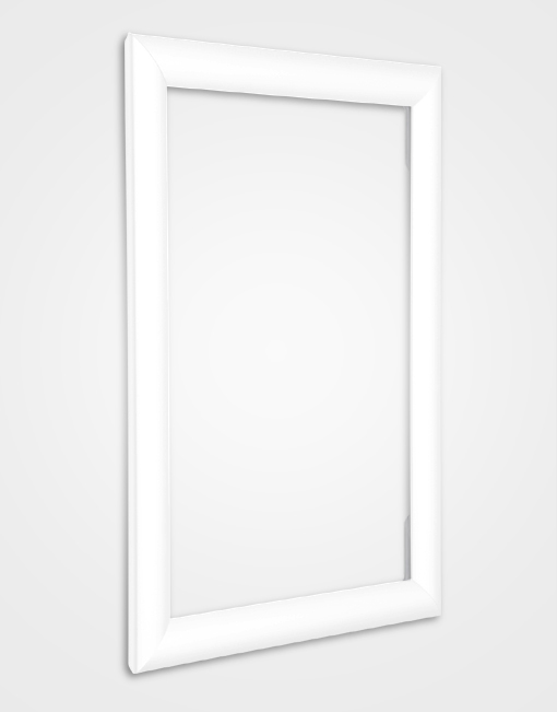 Eco 2 Colour Snap Frame / Signal White